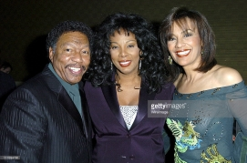 Billy Davis Jr., Donna Summers and Marylin McCoo